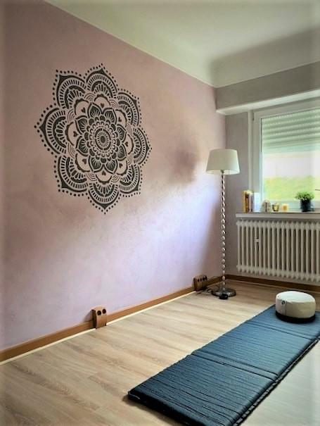 Yoga Raum Peinture Schmitt Atmende Peinture Schmitt